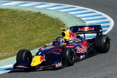 MOTORSPORT - TESTS WORLD SERIES BY RENAULT 2014 - FR 3.5 - JEREZ (SPA) - 24 TO 26/03/2014 - PHOTO : FLORENT GOODEN/ DPPI 01 CARLOS SAINZ (ESP) DAMS - ACTION