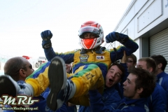 Felipe Nasr (BRA) Carlin Dallara Volkswagen wins the Sunoco Daytona Challenge