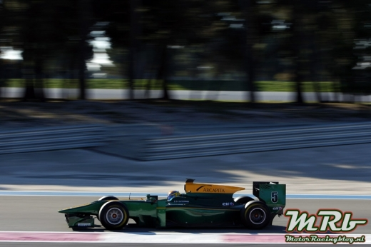 2010 GP2 Series Testing Paul Ricard, France. 18th November 2010. Estaban Gutierrez (MEX), ART Grand Prix. Action Photo: Alastair Staley/GP2 Media Service ref: Digital Image _O9T9464