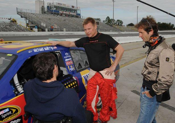 Formule 1-coureurs in NASCAR