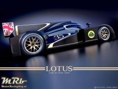 Daniel Simon Livery Lotus LMP 2 2012