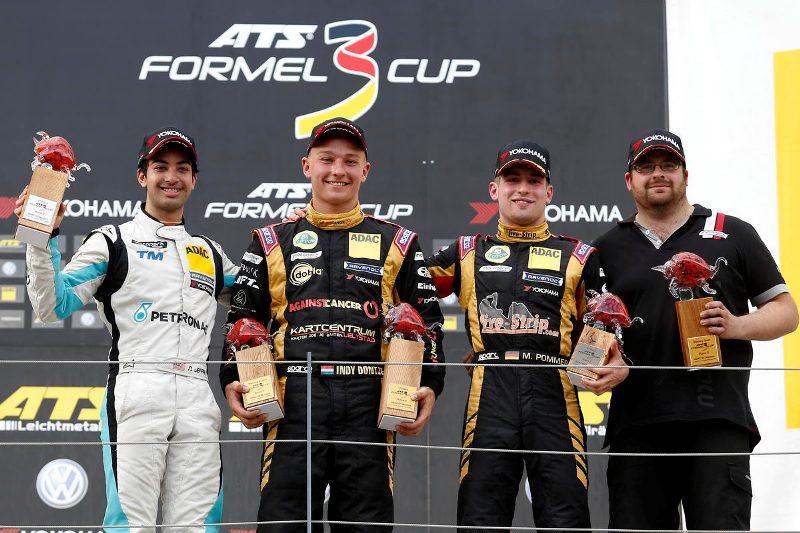 Nederlanders in actie: eerste Formule 3-zege voor Dontje