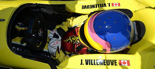 Terug naar Indy: Jacques Villeneuve