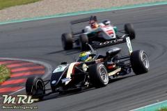 Indy Dontje (NED) Lotus Dallara F311 Volkswagen, Race/Rennen 3, ADAC GT-Masters, etropolis Motorsport Arena Oschersleben, 25.-27.04.2014